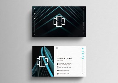 architect business card design