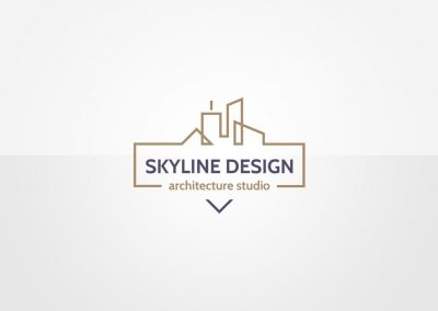 skyline design logo